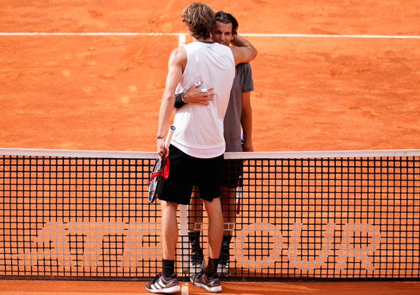 Zverev Tames Thiem, Rolls Into Second Madrid Final
