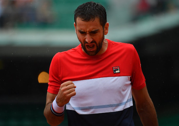 Cilic Maintains Moscow Mastery