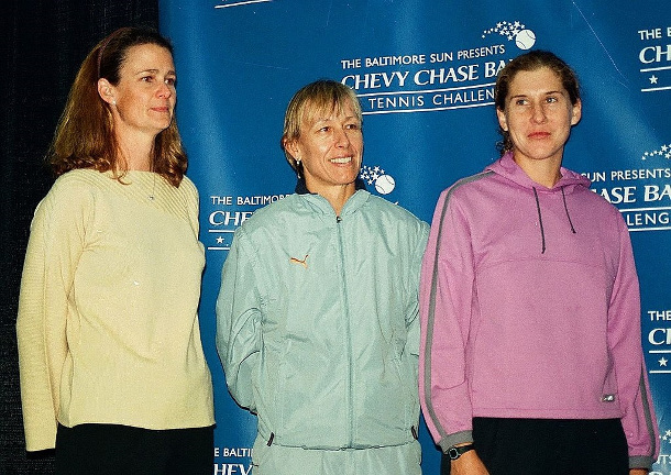 Navratilova and Shriver to Team Up in TC Broadcast Booth