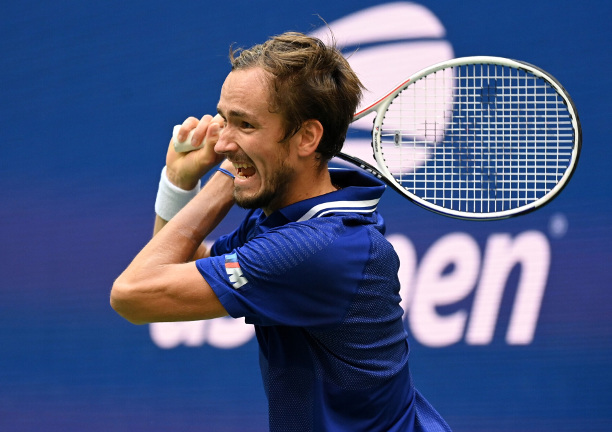 Medvedev Rides T-Time Into US Open Final