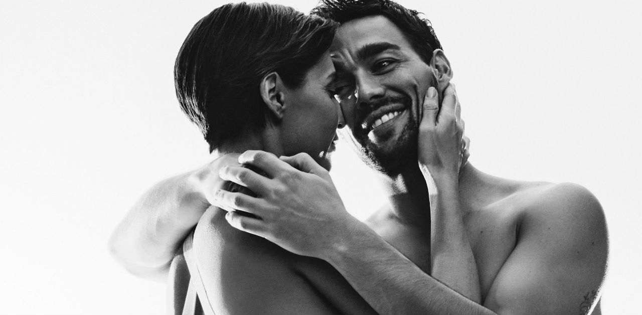 Tennis Couple Strips Down for Armani Ad
