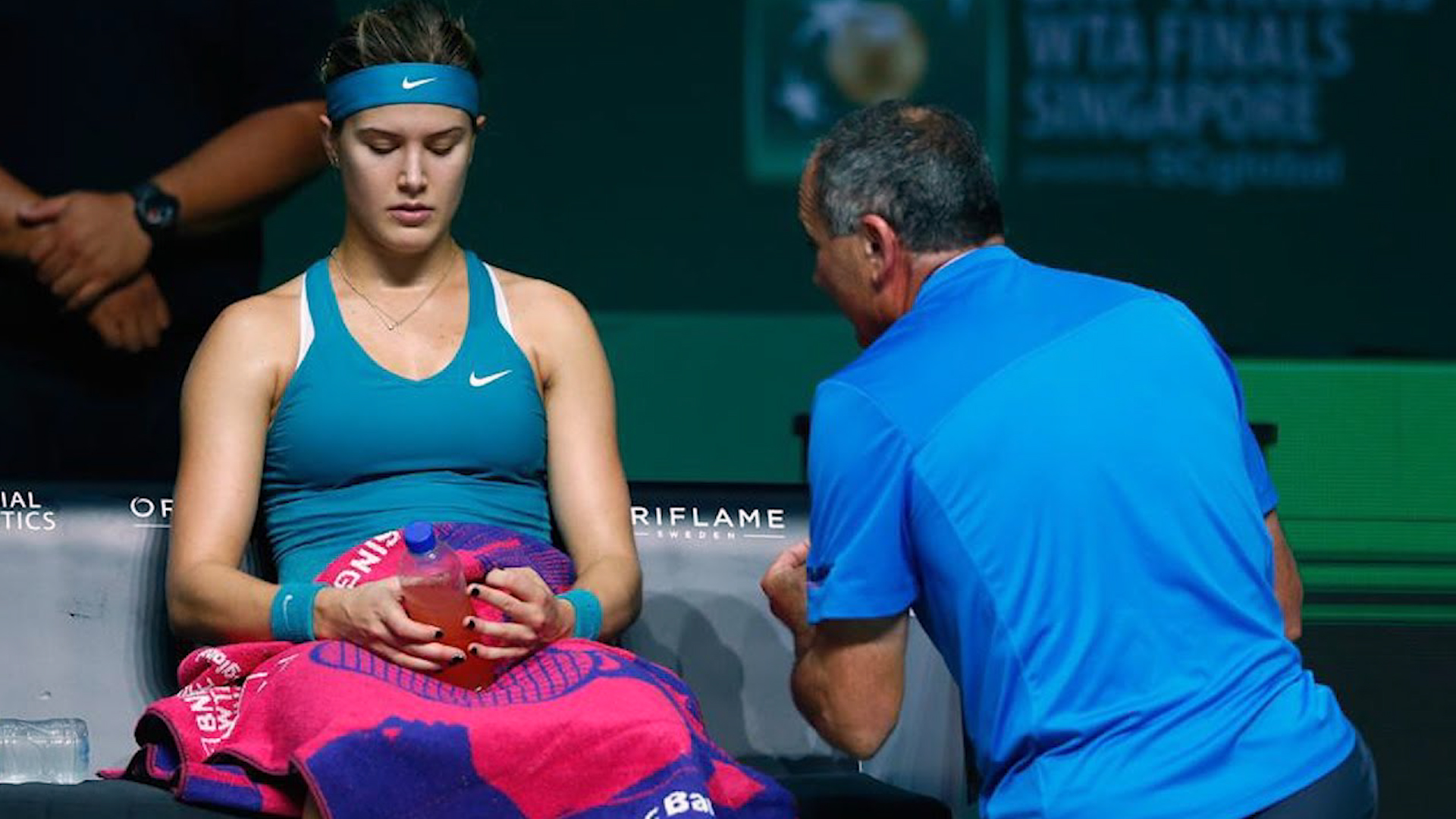 WTA to Trial Coaching From Stands