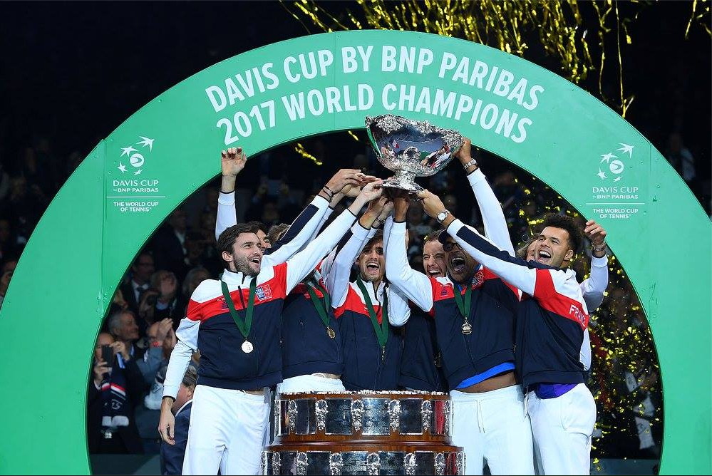 The Top 10 Celebration Tweets from France's 2017 Davis Cup Triumph