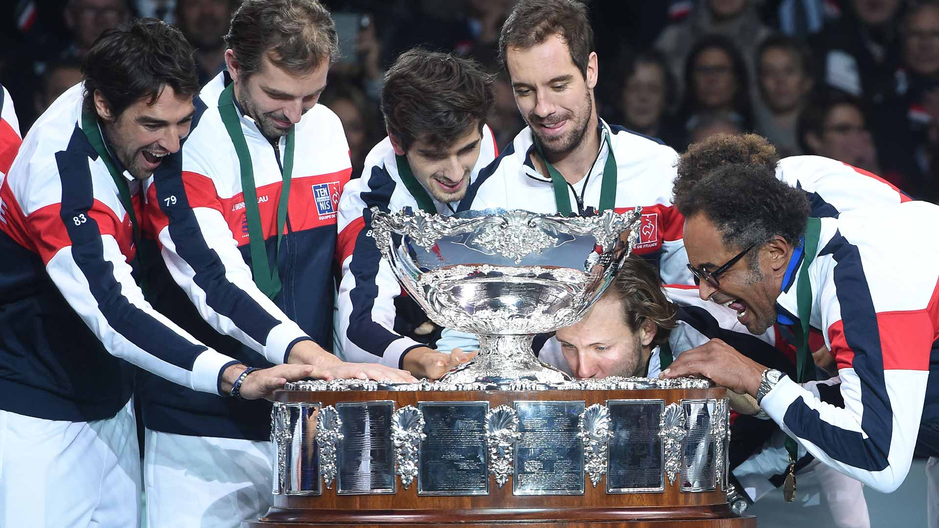 Davis Cup and France Final Stands