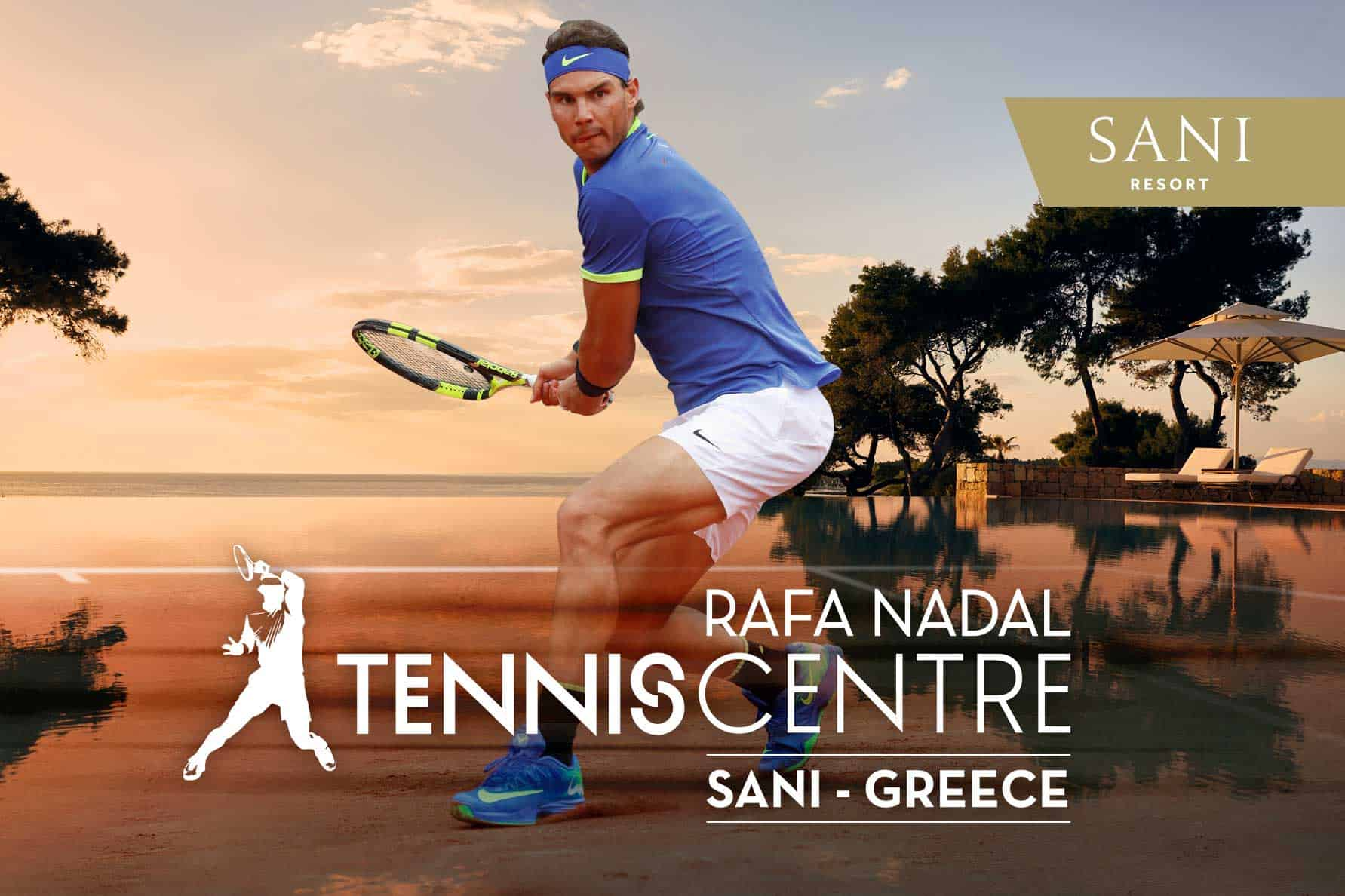 Nadal's New Greek Tennis Center