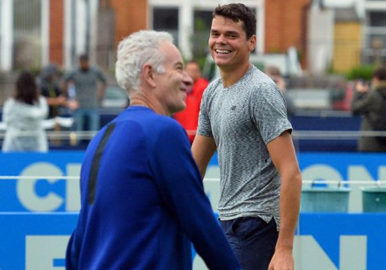 McEnroe and Raonic to Shut Down Relationship at U.S. Open