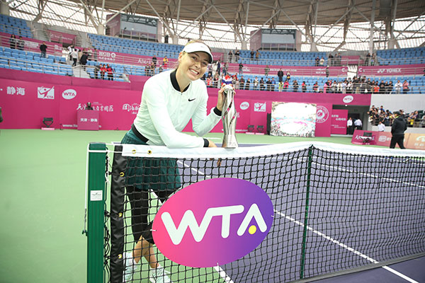 Sharapova's Title Run-Preparing for WTA Finals