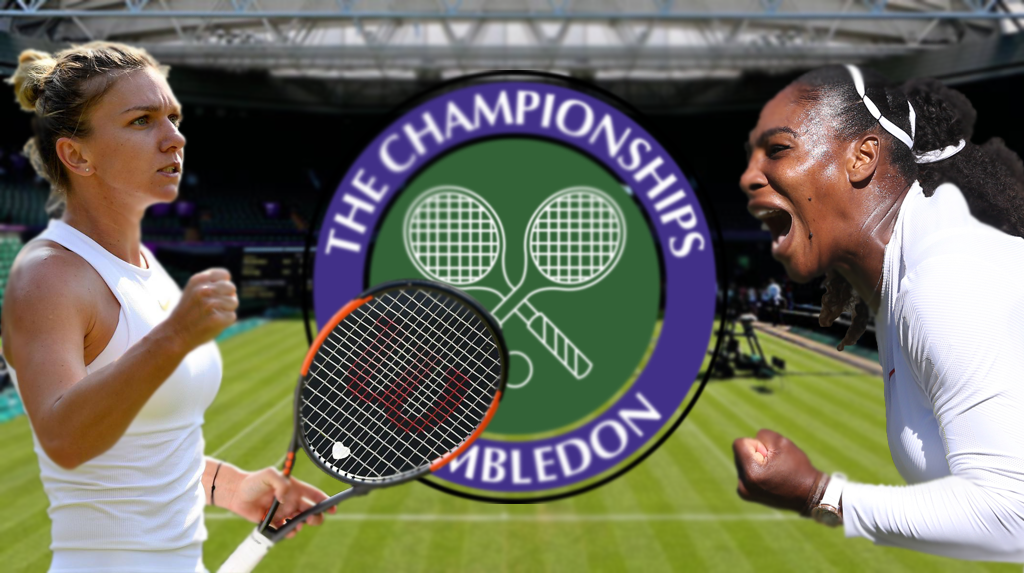 Serena vs Simona Wimbledon Final Facts