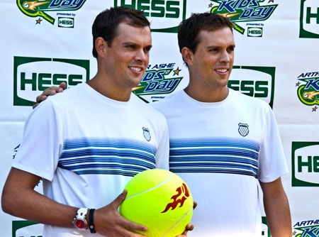 bryan brothers win ATP awards