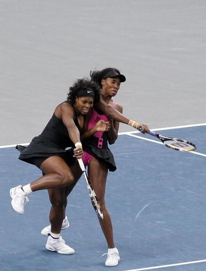 now photo caption contest serena and venus williams double fail