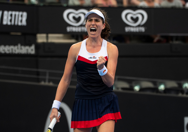 Konta Upbeat after Suffering Heart Palpitatons in First-Round Loss at Lexington