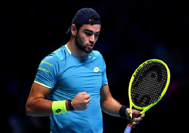 Matteo Berrettini Defeats Stefanos Tsitsipas to Win Inaugural Ultimate Tennis Showdown Title
