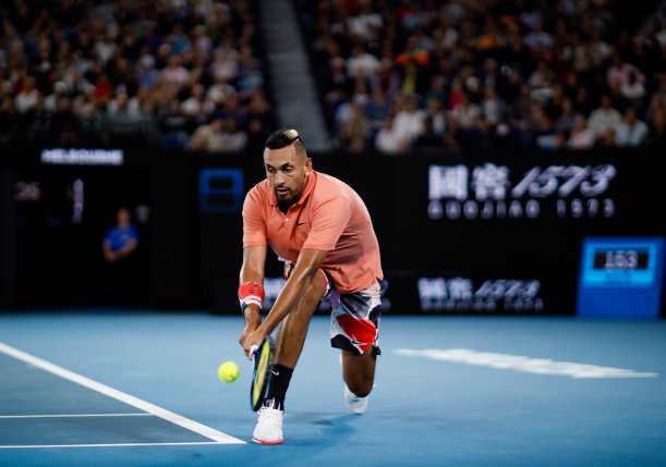 Kyrgios: I Fell into Depression Because of the Things I Thought I Had to Be