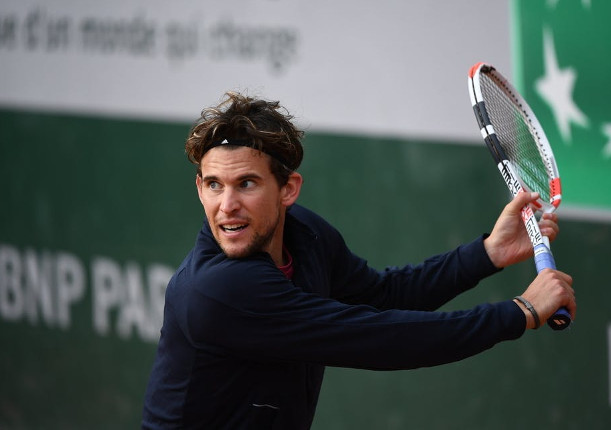 Thiem Tried Everything to Keep Going in Paris