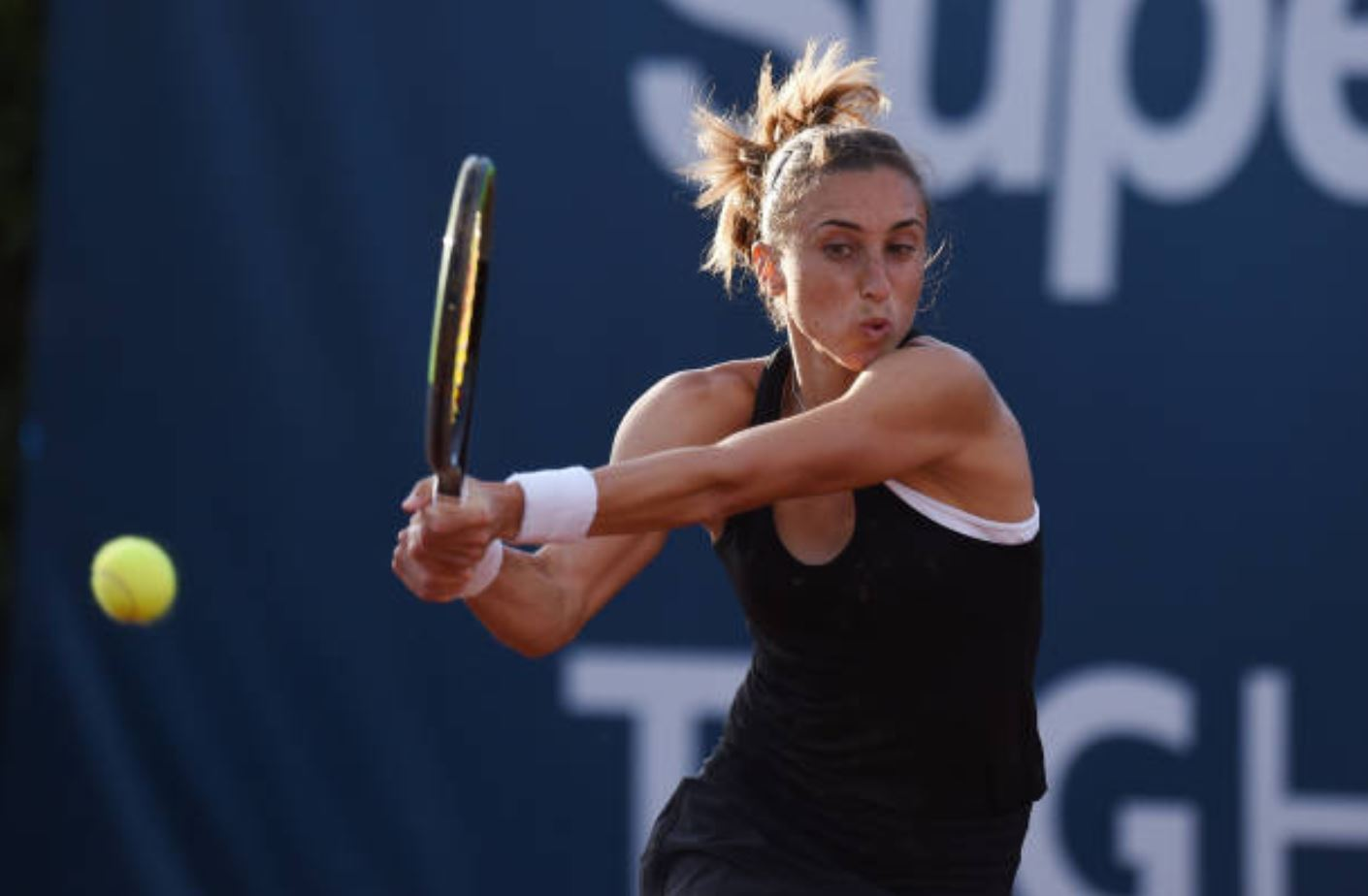 Top-Seeded Petra Martic Opens with a Win in Palermo