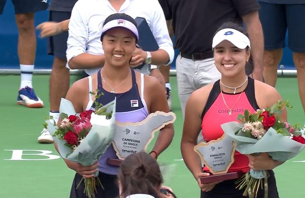 Ann Li Tops Osorio to Claim Maiden WTA Title at Tenerife