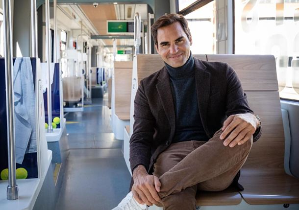 All Aboard the Federer Express! 20-Time Champ Has Tram Dedicated to Him in Basel