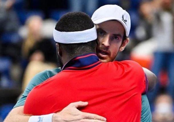 "Tiafoe Praises ""True Inspiration"" Andy Murray After Epic Battle in Antwerp"