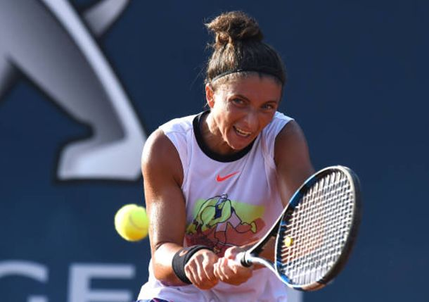 Errani Advances and Teenager Cocciaretto Notches First Top 30 Win